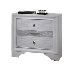 Bargain Bombard Contemporary 3 Drawer Nightstand by House of Hampton