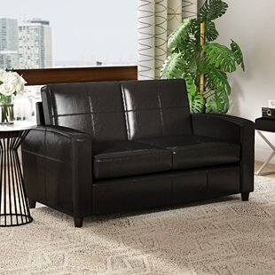 Caswell Wilmot Leather Loveseat