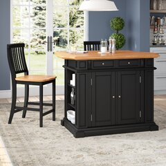 Includes Stools Kitchen Islands Carts You Ll Love In 2021 Wayfair