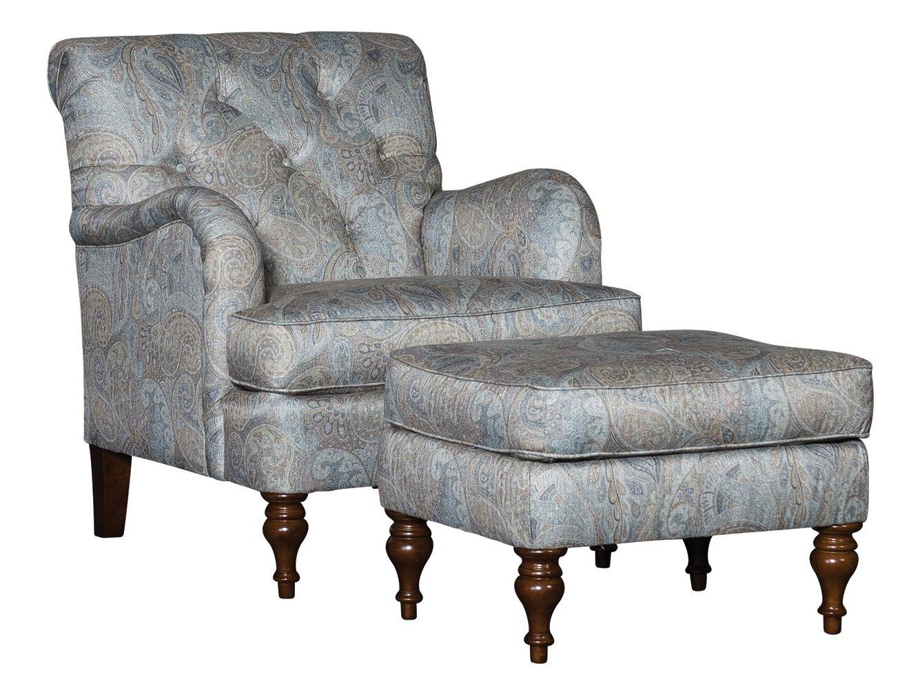 culbreth armchair and ottoman