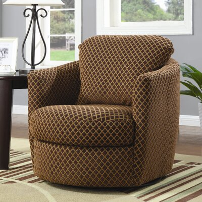 Mckinley Swivel Diamond Print Chair