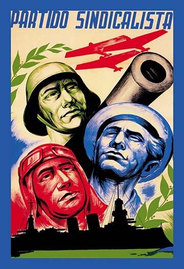 Buyenlarge Partido Sindicalista By Manuel Monleón Vintage Advertisement Wayfair