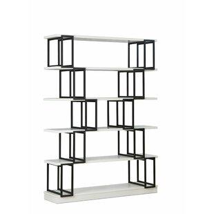 Sote Geometric Bookcase By Ebern Designs