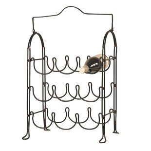 9 Bottle Tabletop Wine Rack by Wilco Home