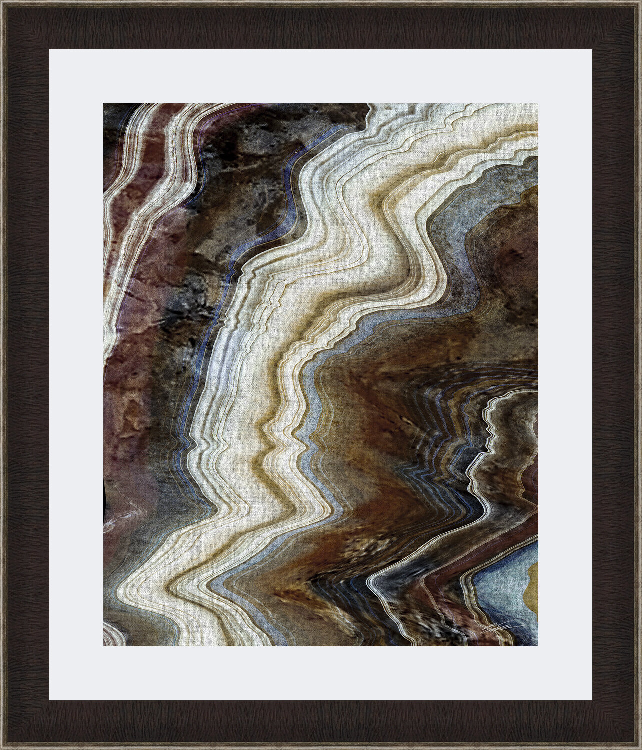 Ashton Wall Décor Llc Mineral Spirits Ii Framed Graphic Art Print Wayfair