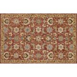 Watertown Hand-Hooked Terracotta/Gold Area Rug