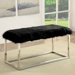 Agrippa Contemporary Metal/Metal Bench