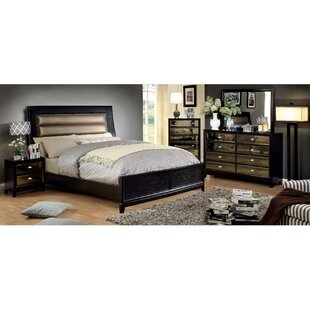 Seabolt Queen Bed With Night Stand Dresser Chest And Mirror Set