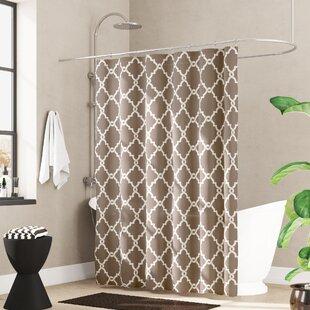 Alta Microfiber Shower Curtain