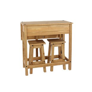 Review Choe Dining Set With 2 Chairs