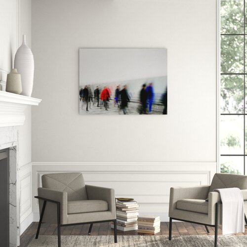 Carlyle Fine Art Figurative The Rush Framed Graphic Art Wayfair