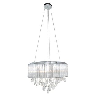 Willa Arlo Interiors Edmee 10-Light Drum Chandelier