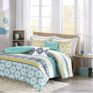 Filey Comforter Set by Ebern Designs Purchase