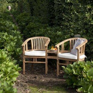 Damasco Teak Love Seat By Sol 72 Outdoor