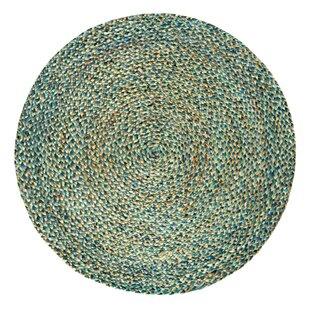 Viramontez Handwoven Blue/Green Outdoor Rug by Longweave