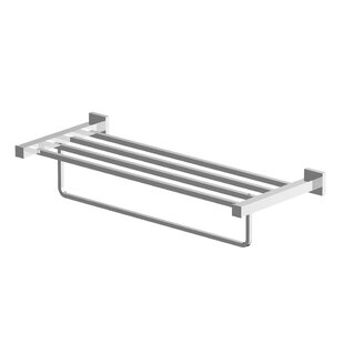 Brushed Nickel Wall Towel Rack Wayfair