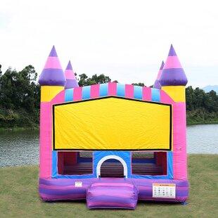 JumpOrange Cotton Candy Bounce House