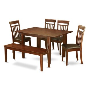 Picasso 6 Piece Extendable Dining Set by Wooden Importers Herry Up
