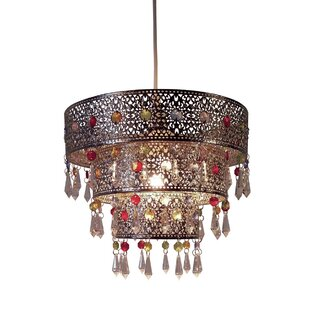 moroccan style lighting. Ligier 3 Tier Moroccan Style 1-Light Drum Pendant Lighting U