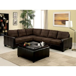 Givens Sectional with Ottoman by Latitude Run