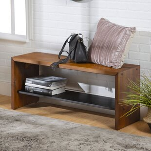 Arocho Solid Wood Bench