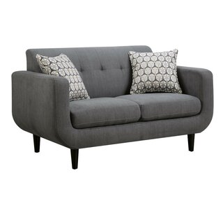 Albrecht Modern Loveseat by George Oliver SKU:BB504465 Description