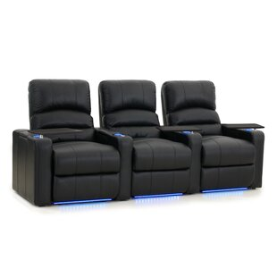 Blue LED Home Theater Row Seating (Row of 3)