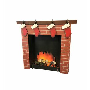 3D Fireplace Standup By Advanced Graphics