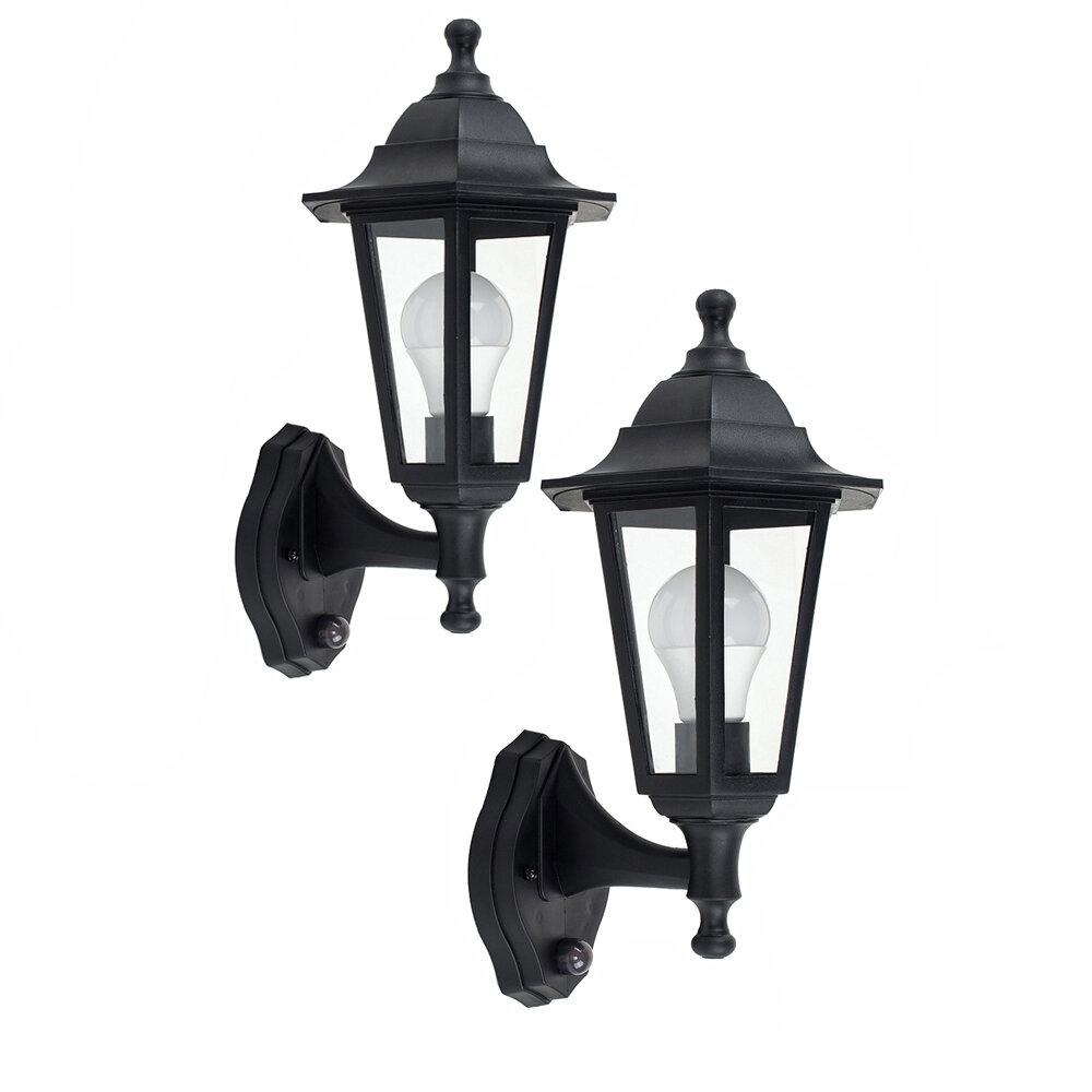 Marlow Home Co Mcmahan Outdoor Wall Lantern With Motion Sensor Reviews Wayfair Co Uk
