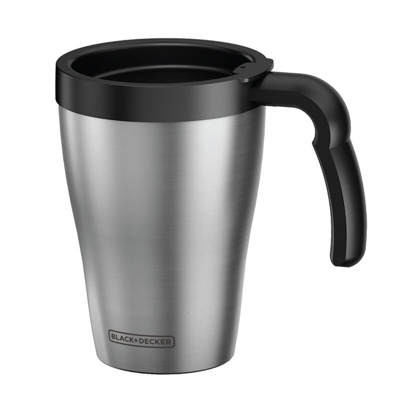 2 Cup Brew N Go Personal Coffee Maker With Travel Mug
