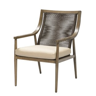 Predmore Patio Dining Chair with Cushion (Set of 2)
