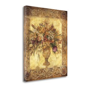 f857c68152d0  Tuscan Urn  Graphic Art Print on Wrapped Canvas