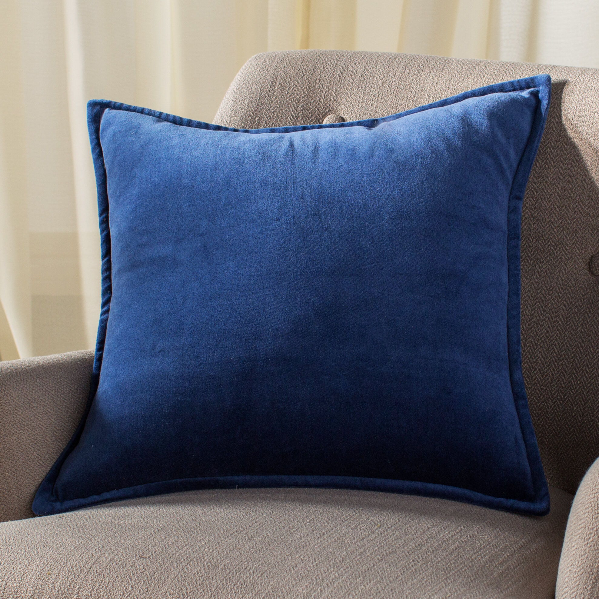 Bradford Cotton Throw Pillow Reviews Allmodern