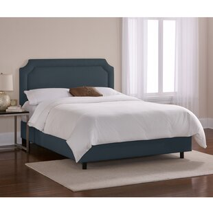 Skyline Furniture Chambers Upholstered Panel Bed