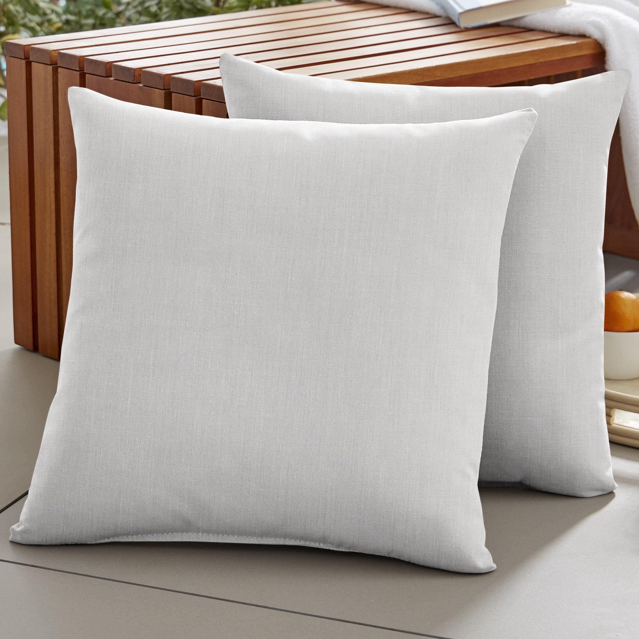 20 Square Sunbrella Throw Pillows You Ll Love In 2021 Wayfair