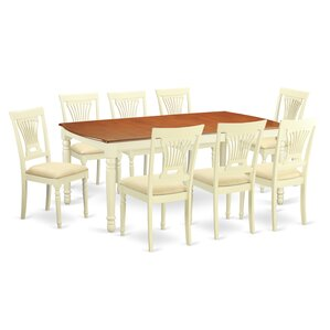 Dover 9 Piece Dining Set by Wooden Import..
