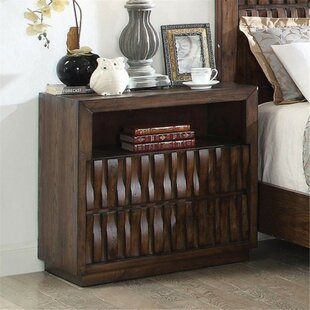 Ashlock 2 Drawer Nightstand by Bloomsbury Market