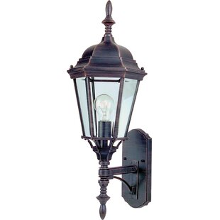 Affordable Listermann 1-Light Outdoor Sconce By Alcott Hill