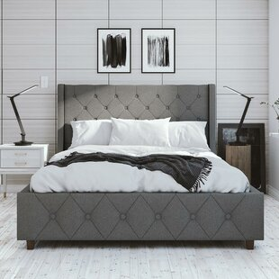 CosmoLiving by Cosmopolitan Mercer Upholstered Platform Bed