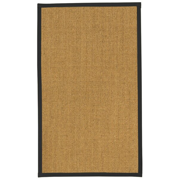 August Grove Belves Handwoven Sisal Beige Area Rug Wayfair