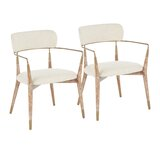 Bowenville Upholstered Dining Chair (Set of 2) by Wrought Studio™