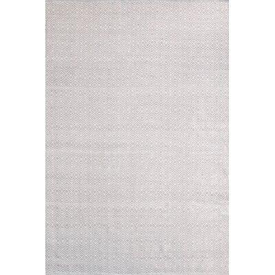 Diamond Hand-Woven White Indoor/Outdoor Area Rug & Reviews | AllModern