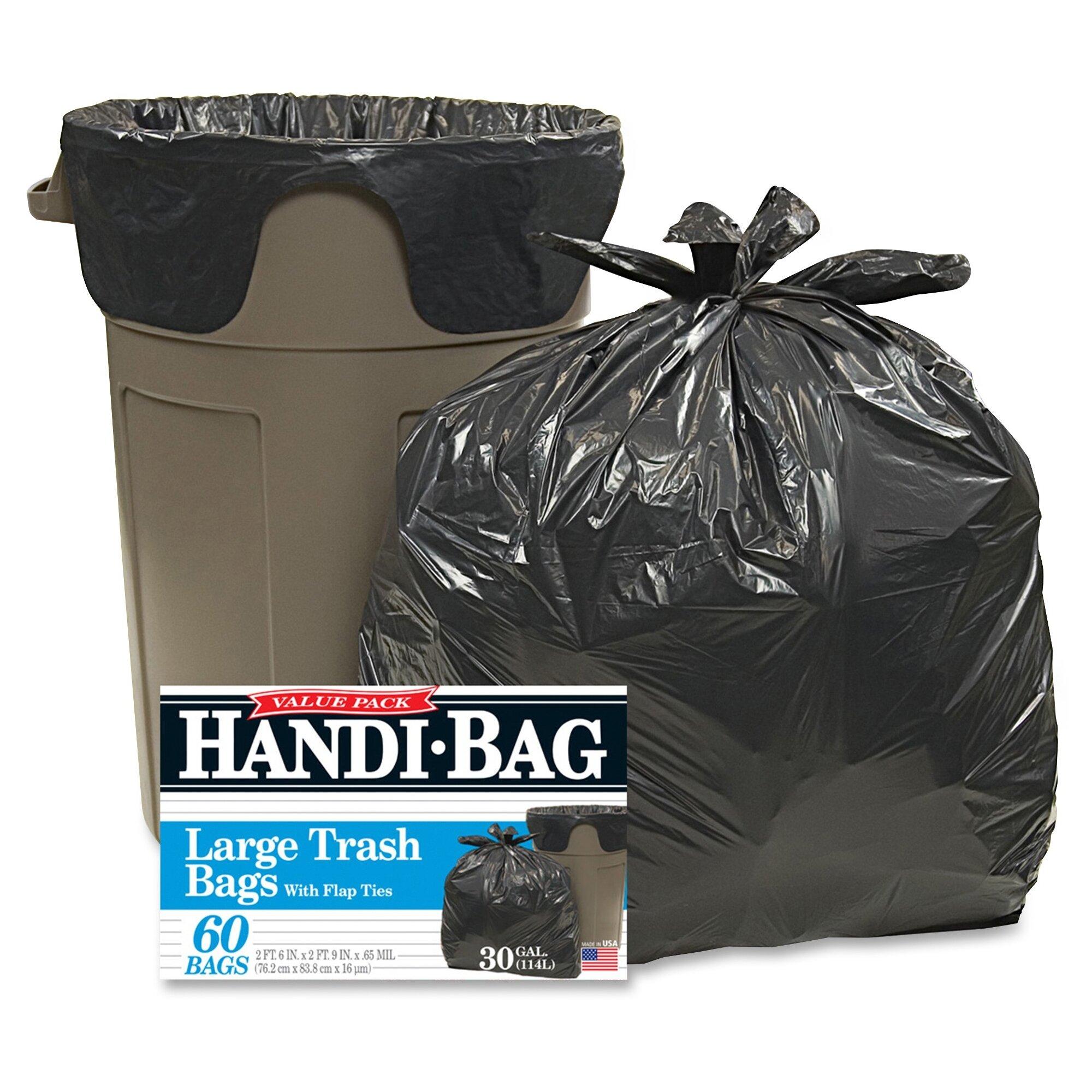 Webster Industrieshandi 30 Gal Trash Bags 60 Count Wayfair