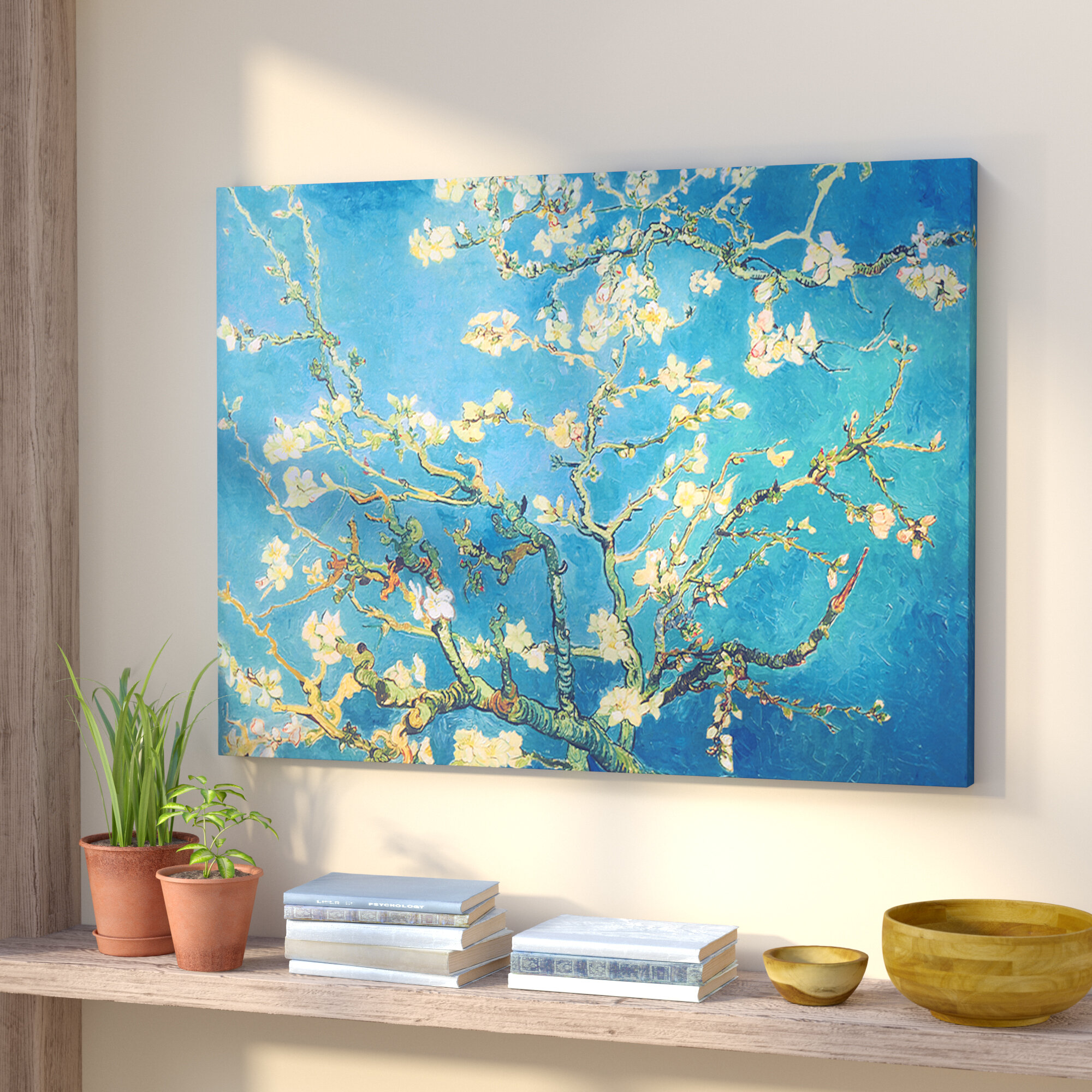 15a5c7001eb World Menagerie  Almond Blossom  by Vincent Van Gogh on Canvas   Reviews