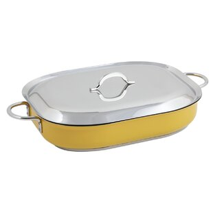 Classic Country French 5-qt. Rectangular Braiser with Lid