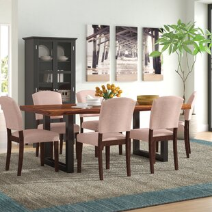 Linde 7 Piece Dining Set Brayden Studio