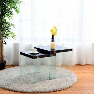 Orren Ellis Cupp 2 Piece Coffee Table Set