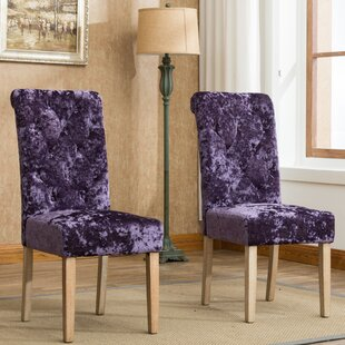 Toland Button Tufted Upholstered Dining Chair (Set of 2)