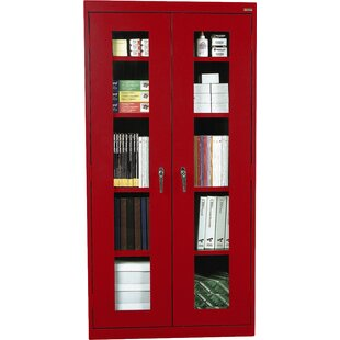 Classic Series 2 Door Storage Cabinet by Sandusky Cabinets Today Only Sale