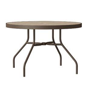 Tropitone Raduno Round Aluminum Dining Table